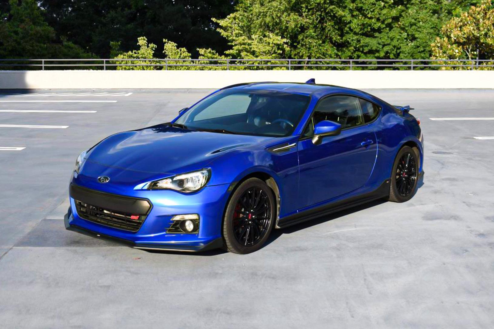 2015 Subaru BRZ 'Series.Blue'