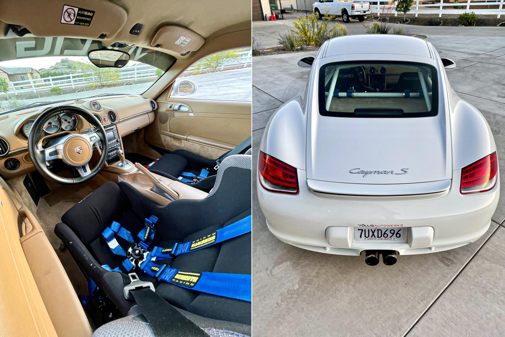 2010 Porsche Cayman S 'Track Car'